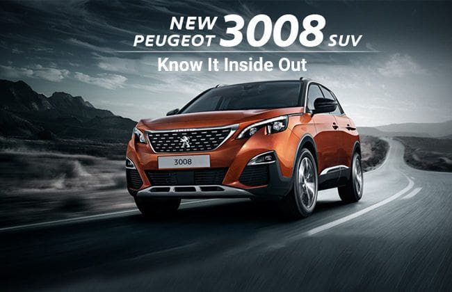 New Peugeot 3008: Know the SUV inside-out