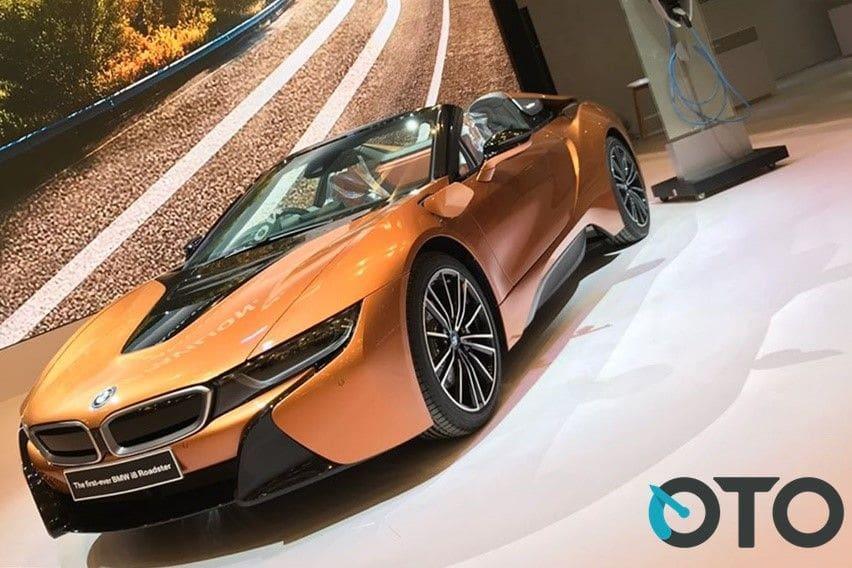 GIIAS 2018: 5 Fakta Seputar BMW i8 Roadster