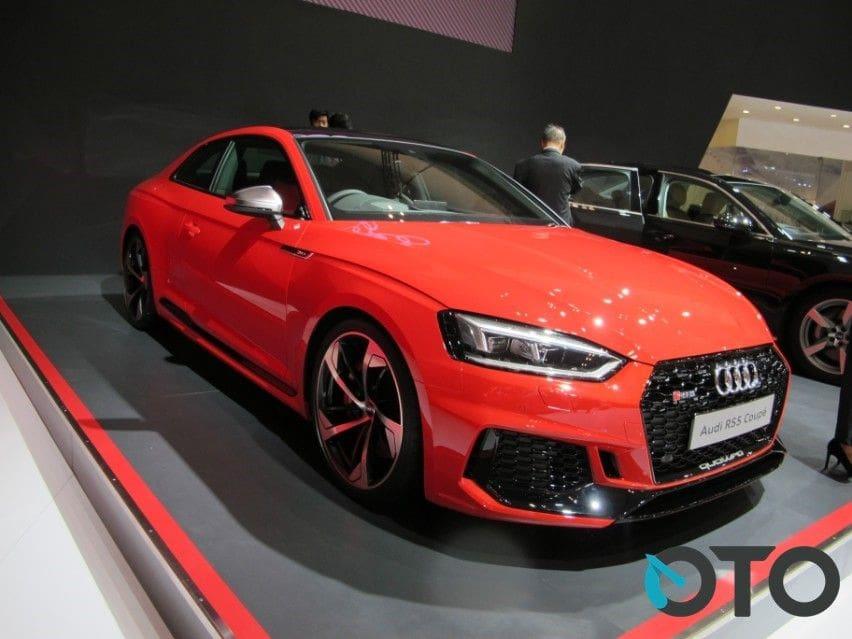 GIIAS 2018: Punya Teknologi Canggih, Audi Kenalkan A8 L dan Audi R5 5 Coupe