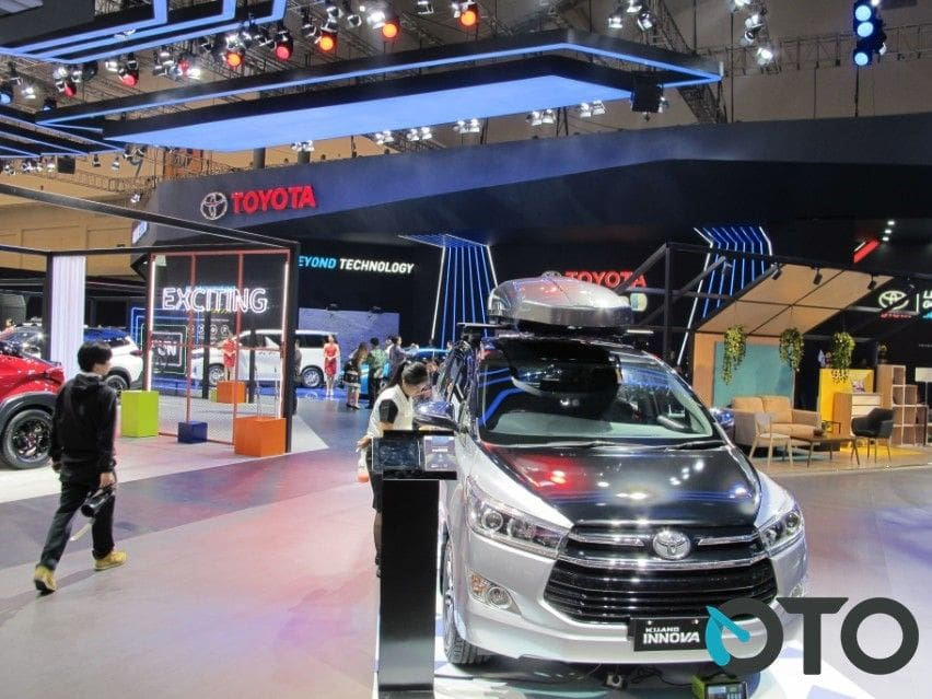 GIIAS 2019: Toyota Pastikan Tak Ada Peluncuran Low MPV Baru