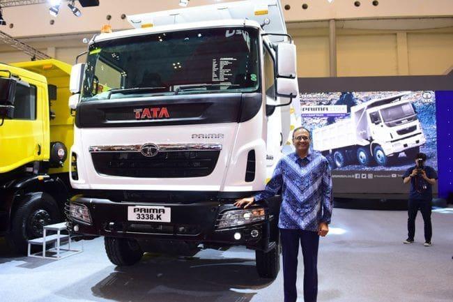GIIAS 2018: Tata Prima 3338.K Sasar Komoditas Infrastruktur