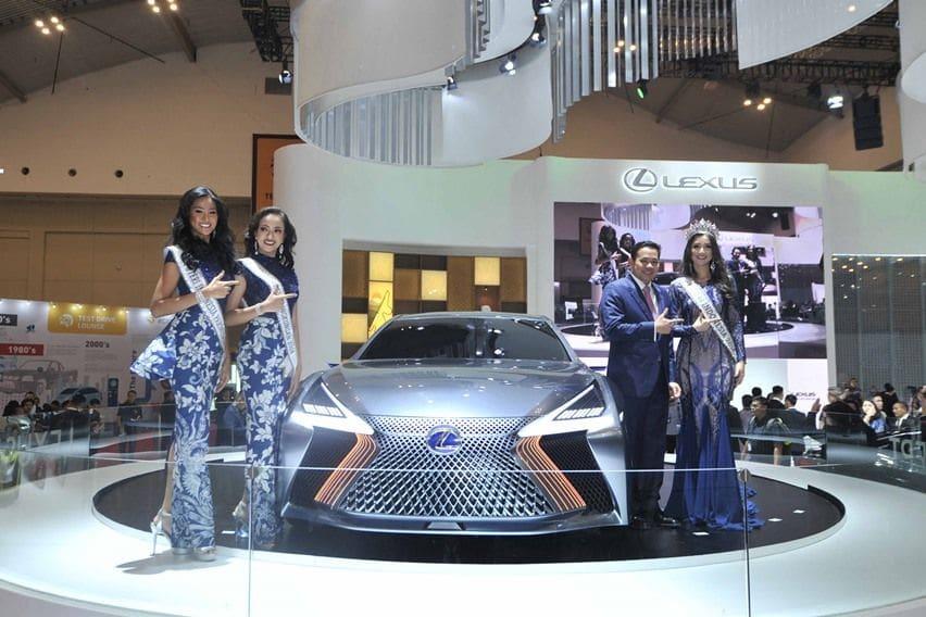Laris di GIIAS 2018, Lexus Kehabisan Stok