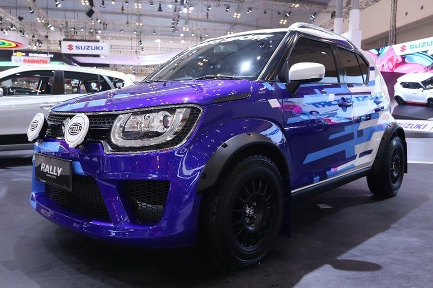 GIIAS 2018: Suzuki Ignis Rally Concept, Si Mungil yang Tak Biasa