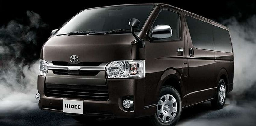 toyota hiace special edition revealed to celebrate its
