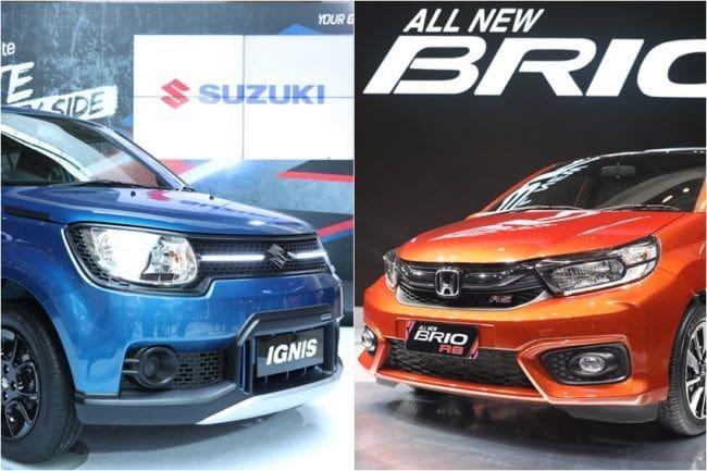 GIIAS 2018: Membandingkan Performa Honda Brio RS vs Suzuki Ignis Sport Edition