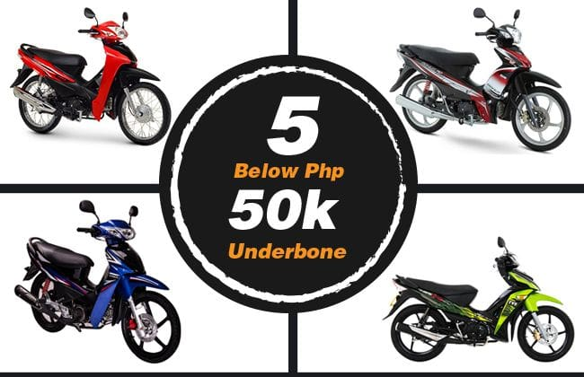 5 Below Php 50k underbones that will not disappoint you