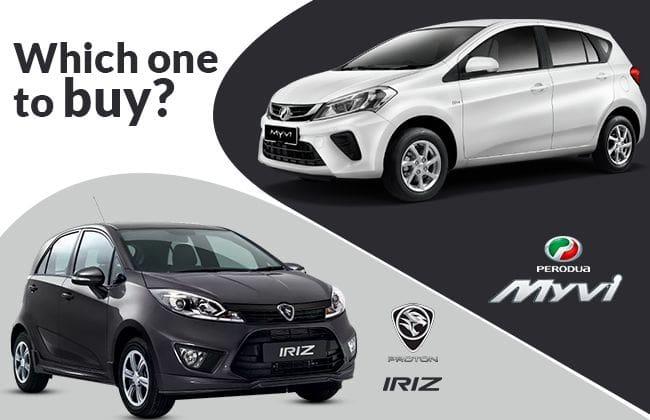 Perodua Myvi Vs Proton Iriz Which One To Buy