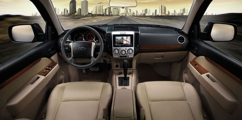 Ford Everest cabin