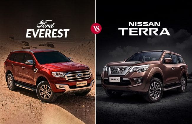 2018 Nissan Terra vs Ford Everest -  American stalwart against Japanese invasion