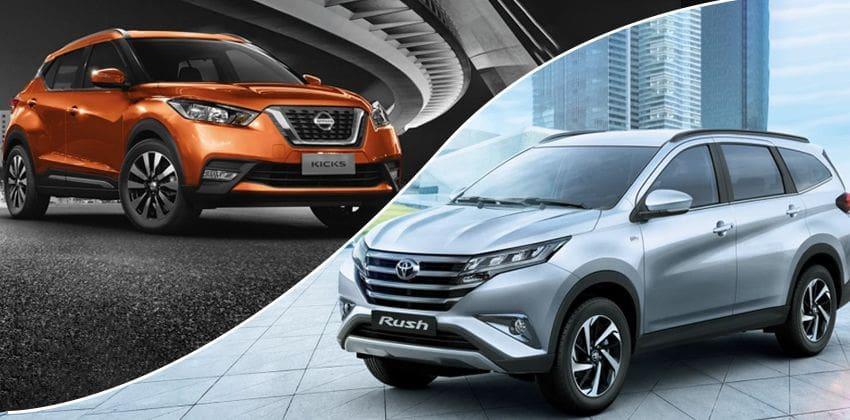 Nissan Kicks vs Toyota Rush