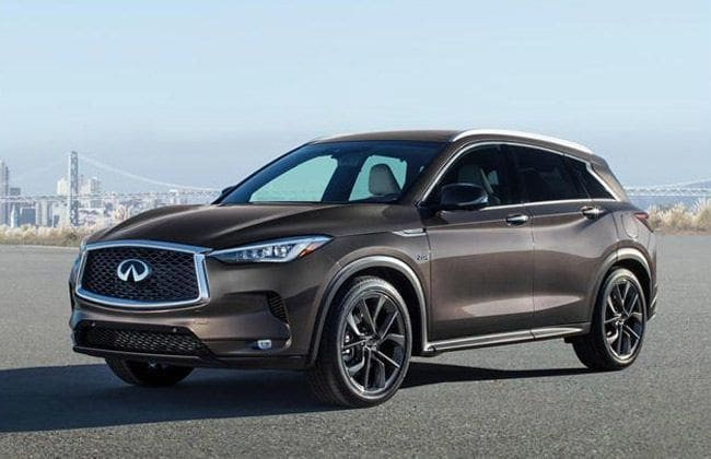 All-new Infiniti QX50 to arrive in the Middle East
