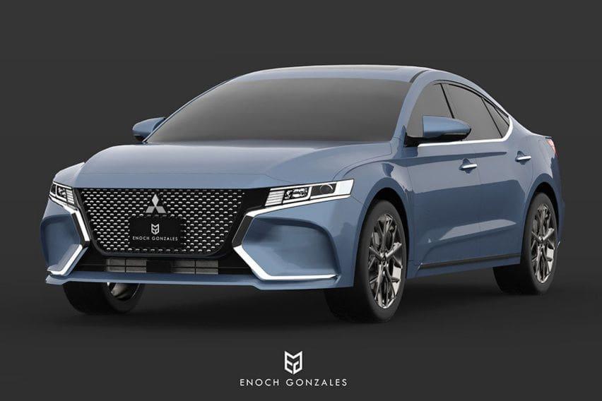Beginikah Sosok Mitsubishi Gallant 2020