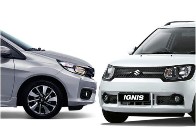 Honda Brio RS CVT vs Suzuki Ignis GX AGS, Mana Lebih Layak Dibeli?