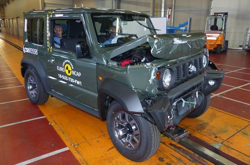 Suzuki Jimny 2018 Cuma Dapat Tiga Bintang Uji Tabrak Euro NCAP