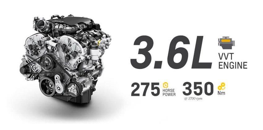 Chevrolet Trailblazer engine