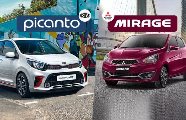 Kia Picanto vs Mitsubishi Mirage - A hatch fight you must witness