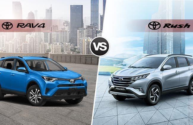 Toyota Rush vs RAV4 - The better choice?