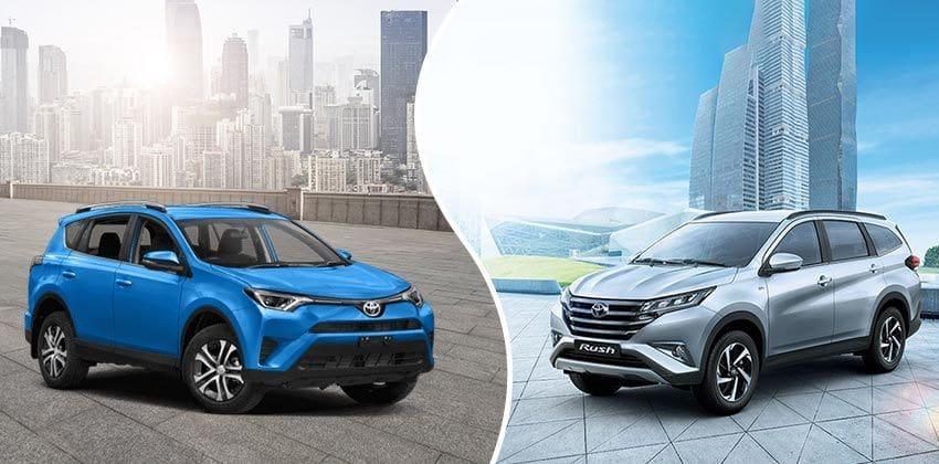 Toyota Rush vs RAV4