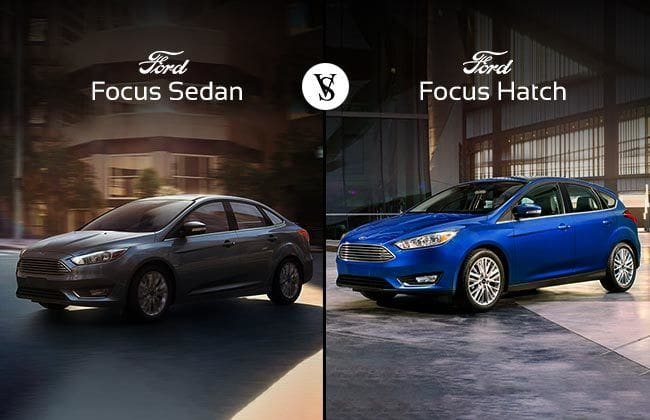 Ford Focus Hatch vs Ford Focus Sedan: Which one to buy?