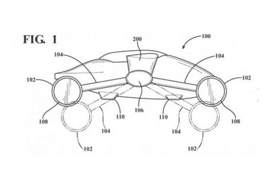 Desain Mobil Terbang Toyota