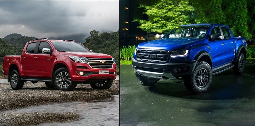 Chevrolet Colorado vs Ford Ranger Raptor