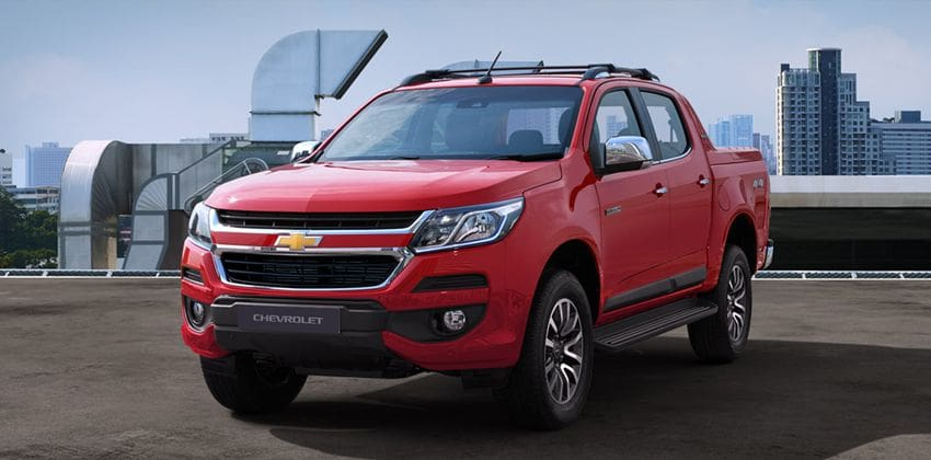 Chevrolet Colorado front