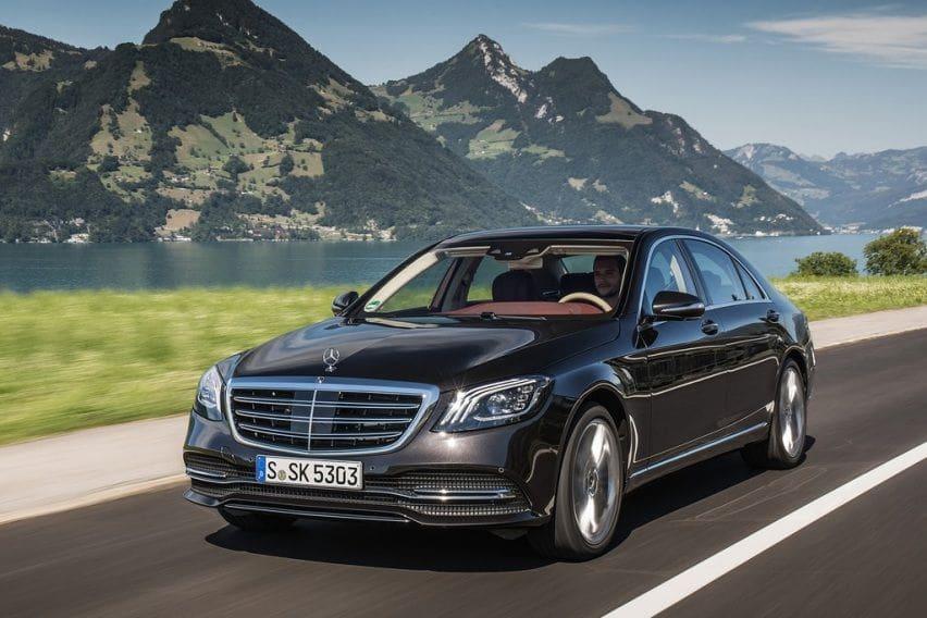 Mercedes-Benz GLC dan S-Class Dapat Fitur Safety Baru, V-Class Punya Mesin Bensin
