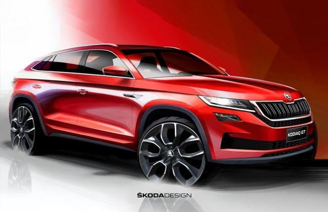 Skoda Kodiaq GT, the new flagship model for China