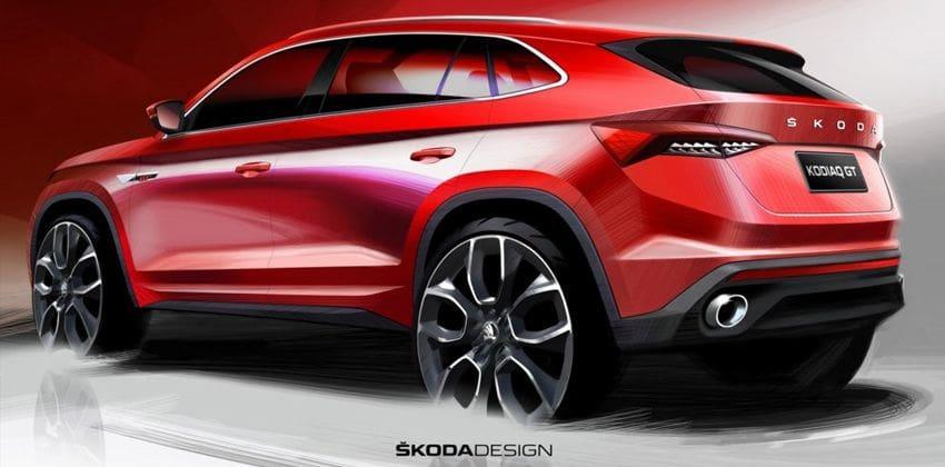 Skoda Kodiaq GT rear