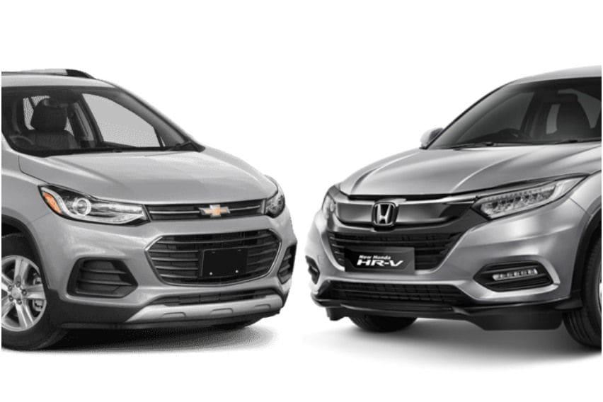 Komparasi Honda HRV 1.5 E Special Edition vs Chevrolet Trax 1.4T Premier