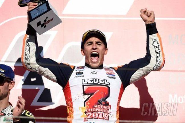 MotoGP: Determinasi Marquez Berbuah Juara Musim 2018