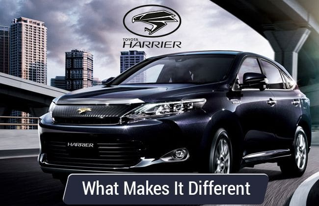 Toyota Harrier: What makes it different in the segment?