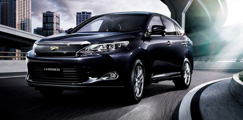 Toyota Harrier front