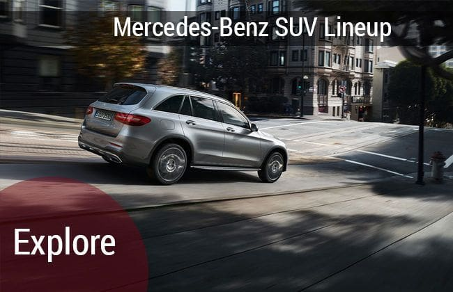 Mercedes-Benz SUV lineup: Performance beyond perfection