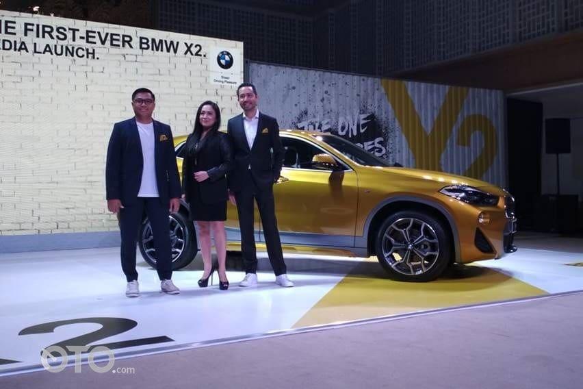 BMW X2 Resmi Meluncur, Harganya Rp 839 juta