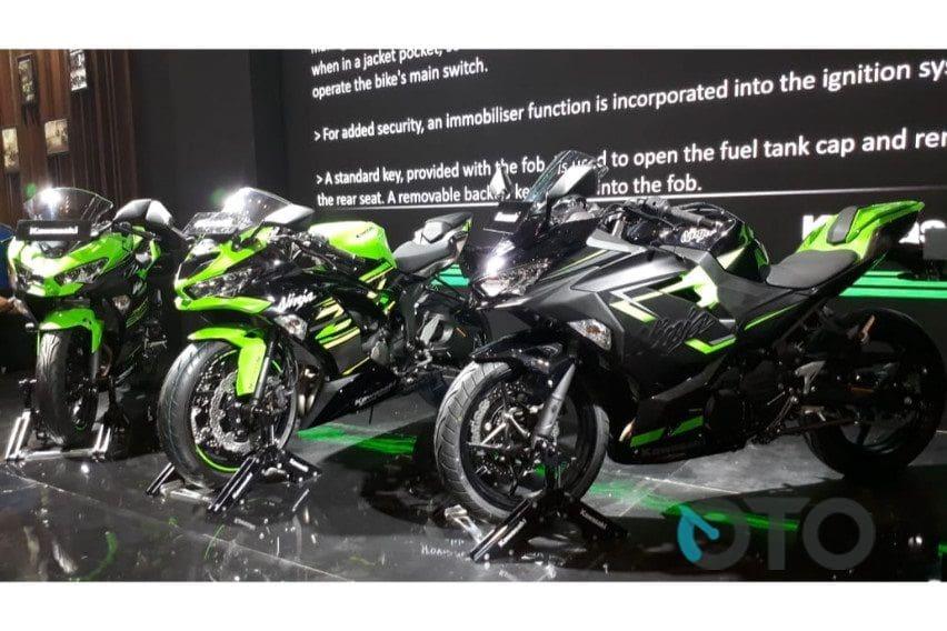 IMOS 2018: Bedah Setiap Varian Kawasaki Ninja 250 Edisi 2019
