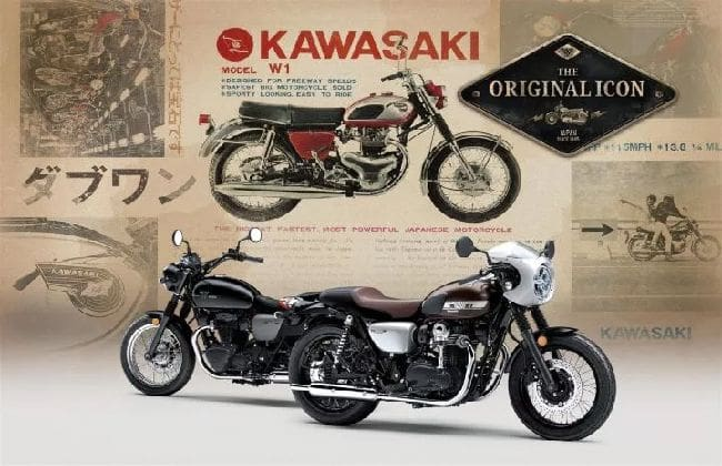 Kawasaki W800 gets updated for 2019 with two version