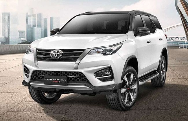 2019 Toyota Fortuner TRD Sportivo facelift debuts in Thailand