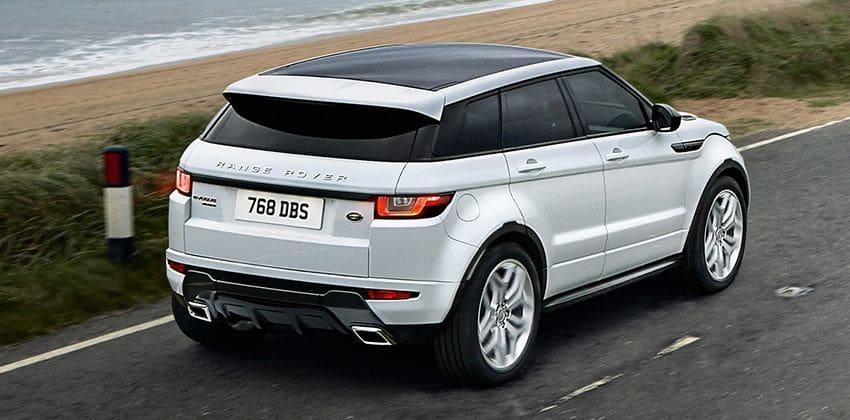 2020 Land Rover Range Rover Evoque Rear