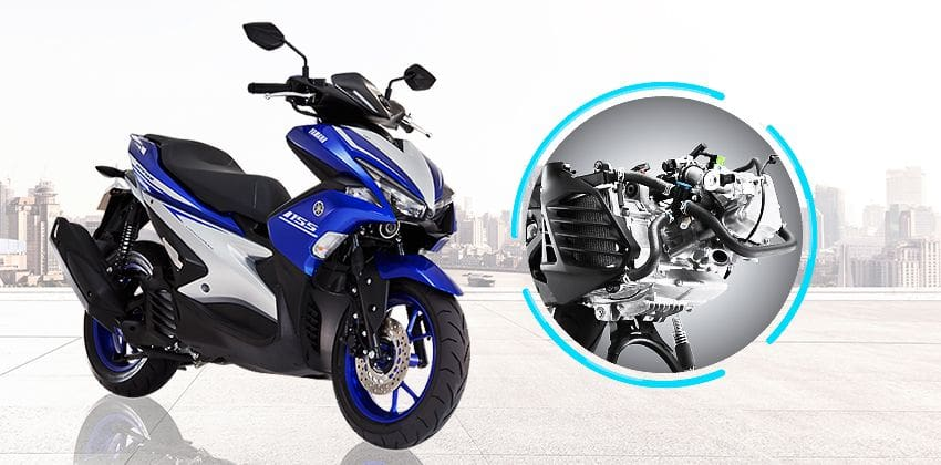 Yamaha Mio Aerox 155 engine