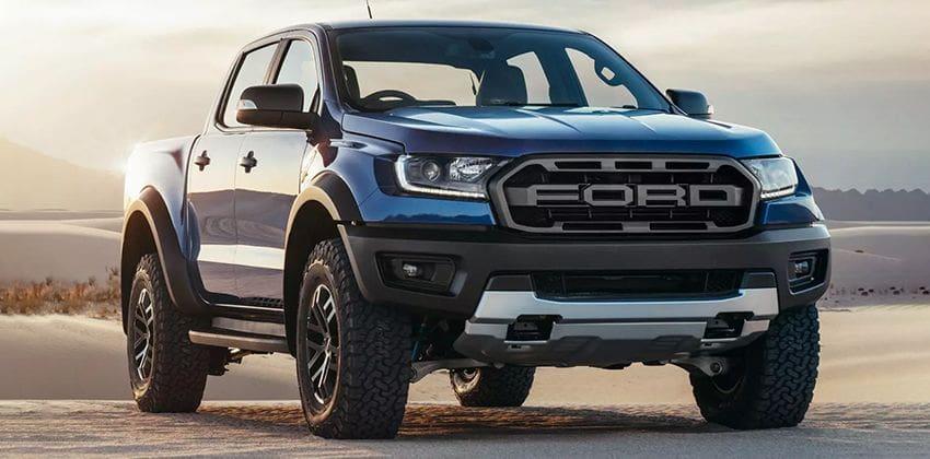 Ford Ranger Raptor front