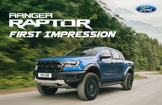 Ford Ranger Raptor: First impression
