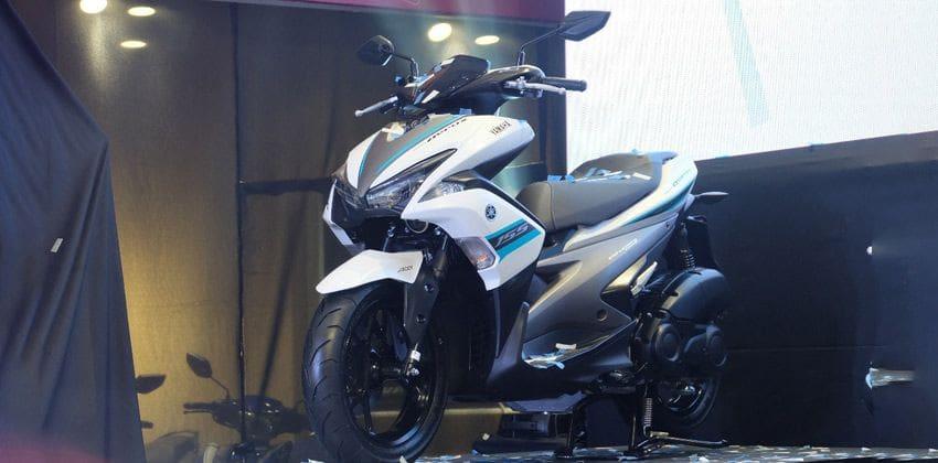 Yamaha Mio Aerox 155 front