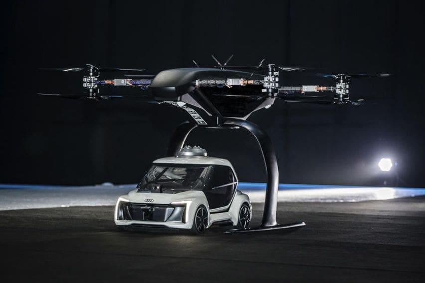 Audi, Airbus dan Italdesign Serius Kembangkan Mobil Terbang