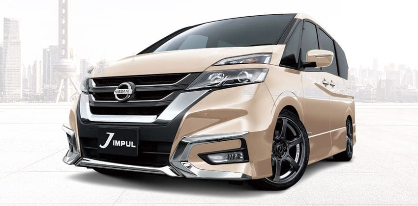 C27 Nissan Serena With Impul Kit Spotted