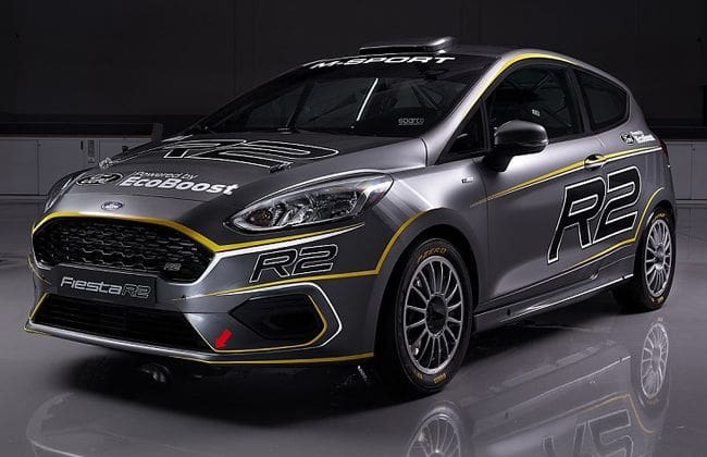 2019 Ford Fiesta R2 revealed for Junior World Rally Championship