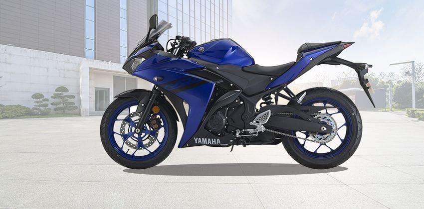 Yamaha YZF-R25 side