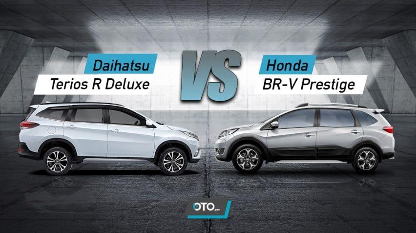 Komparasi Daihatsu Terios R Deluxe vs Honda BR-V Prestige