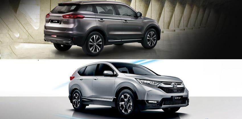 Proton X70 vs Honda CR-V