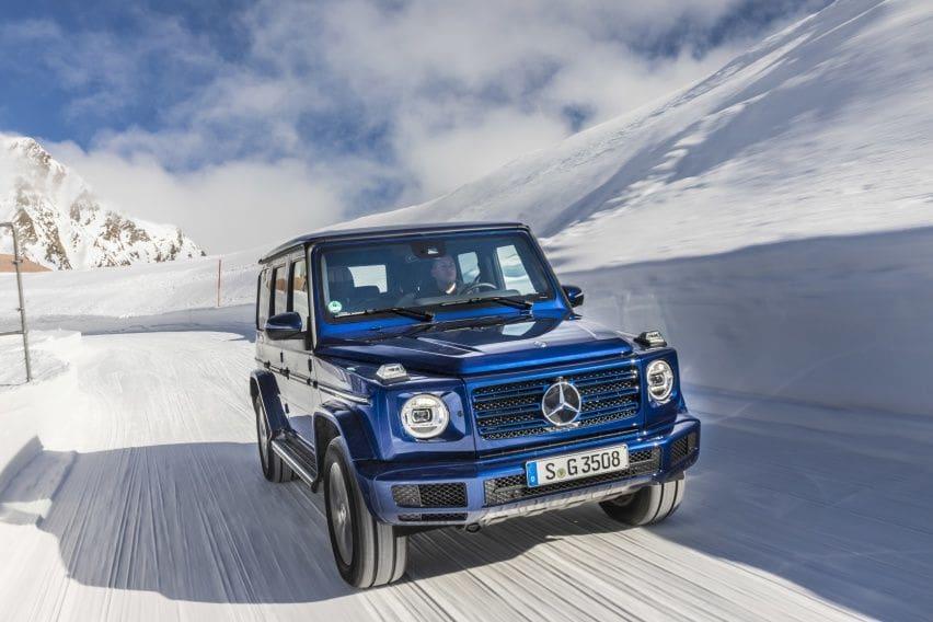 Mercedes-Benz G-Class Siap Bertransformasi ke Mekanikal Elektrik